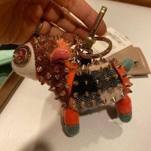 New Burberry key chain or bag charm